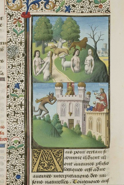 Maitre Francois - City of God, circa 1475